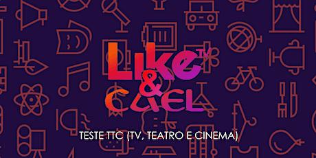 TESTE TTC para artistas LIKE ingressos
