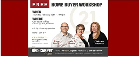 FREE Home Buyer Workshop tickets