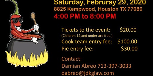 St. Jerome Chili Cook-Off and Pie Contest