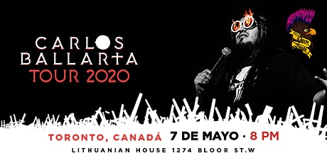 Carlos Ballarta En Toronto Tour 2020 tickets