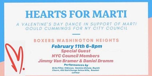 Hearts for Marti