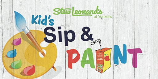 Stew Leonard's Of Yonkers First Sip and Paint Event