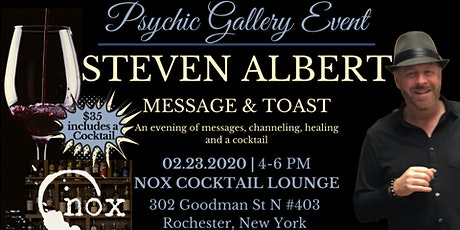 Steven Albert: Psychic Gallery Event - Nox Cocktail Lounge tickets