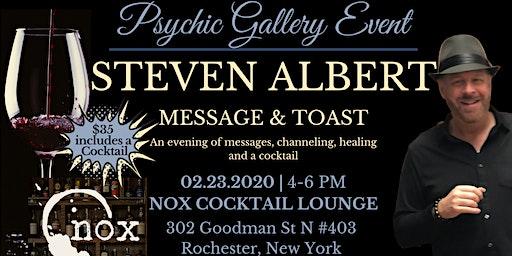 Steven Albert: Psychic Gallery Event - Nox Cocktail Lounge