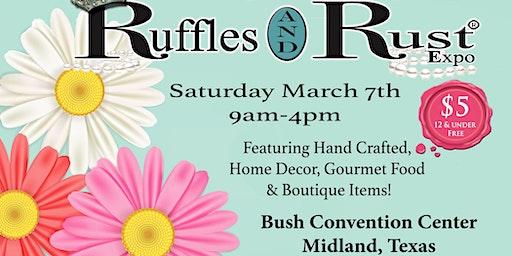 Ruffles and Rust Expo Midland