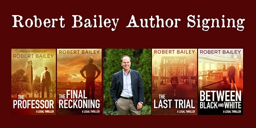 Robert Bailey Author Signing
