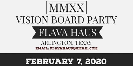 MMXX Vision Board Party tickets