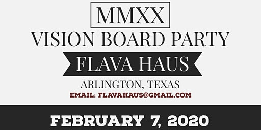 MMXX Vision Board Party