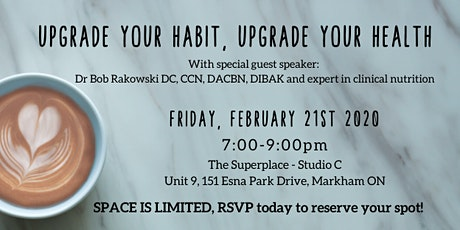 Upgrade Your Habit, Upgrade Your Health tickets