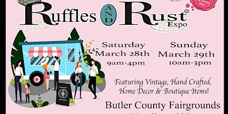 Ruffles and Rust Expo Hamilton tickets