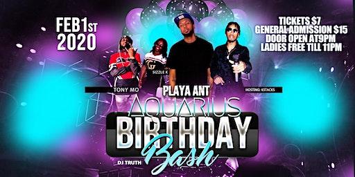 Playa ant aquarius birthday bash