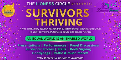 Survivors Thriving - International Women's Day 2020 Event tickets