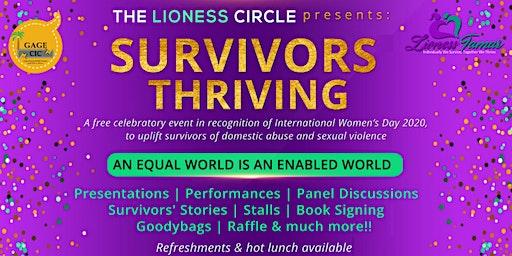 Survivors Thriving - International Women's Day 2020 Event