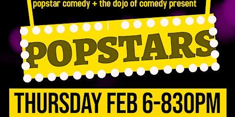 Popstar Comedy Presents POPSTARS tickets