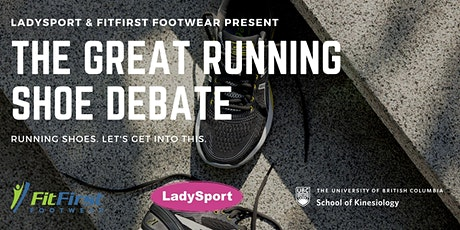 The Great Running Shoe Debate tickets