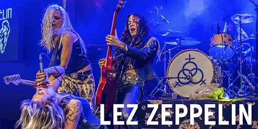 Lez Zeppelin at The Stationery Factory
