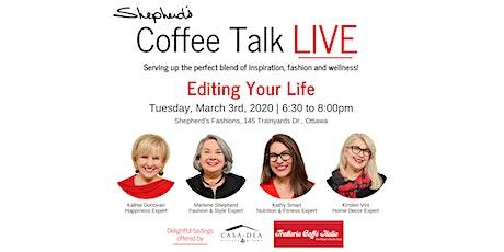 Shepherd's Coffee Talk - LIVE!  tickets