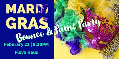 Mardi Gras Bounce and Paint Party
