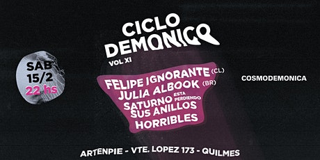 Ciclo Demónico Vol. XI entradas