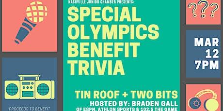 Special Olympics Benefit Trivia billets
