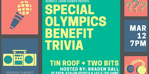 Special Olympics Benefit Trivia