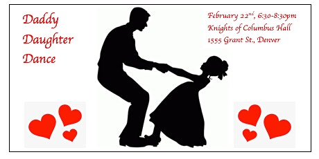 Daddy Daughter Sweetheart Dance tickets