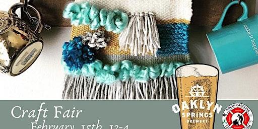 Oaklyn Spring Brewery Craft Fair -  Private Room Vendor Registration
