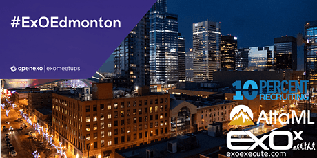 OpenExO Edmonton - Leveraging Disruptive Technology in Your Business tickets