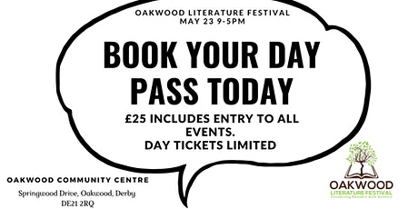 Oakwood Literature Festival Full Day Pass tickets