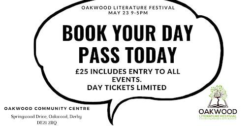 Oakwood Literature Festival Full Day Pass