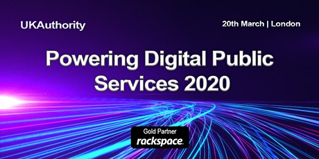 Powering Digital Public Services 2020 tickets