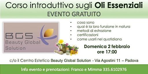 Padova - Corso Introduttivo Gratuito sugli Oli Essenziali