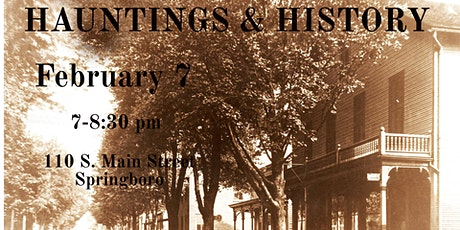 Hauntings and History tickets