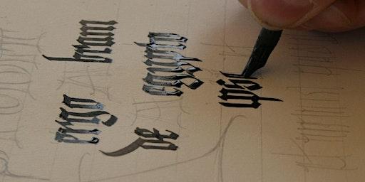 Medieval Calligraphy Workshop - half day