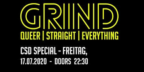 GRIND - CSD Special // Freitag, 17. Juli 2020 ab 22:30 Uhr Tickets