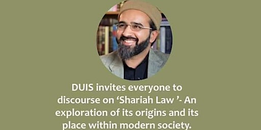 SHARIAH Law? Origins And Place In Society
