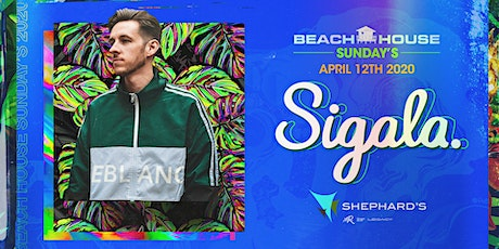 Sigala at Beach House Sundays 2020 tickets