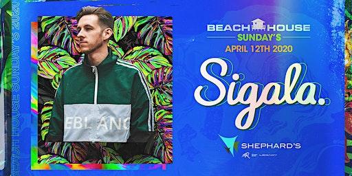 Sigala at Beach House Sundays 2020