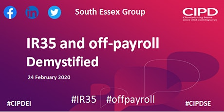 IR35 and off-payroll demystified - South Essex Group tickets