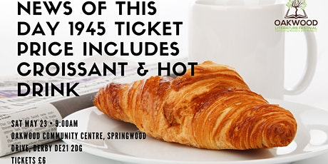 Breakfast and Post-WWII Headlines with Author Panel tickets