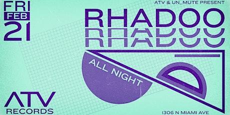 Rhadoo by ATV & Un_Mute tickets