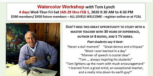 Tom Lynch Watercolor Workshop