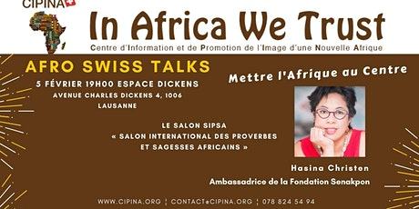 1er Afro Swiss Talks - Le Salon SIPSA billets