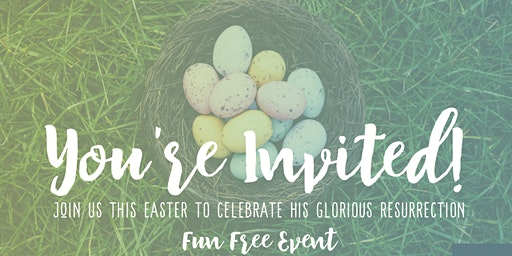 Annual Easter Sunday Service! FREE Egg Hunt | Pony Rides | Petting Zoo