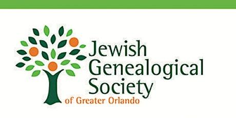 JewishGen: An Amazing Genealogical Resource tickets