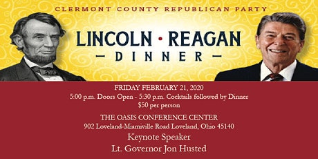 2020 Clermont County Republican Party Lincoln-Reagan Dinner tickets