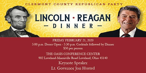 2020 Clermont County Republican Party Lincoln-Reagan Dinner