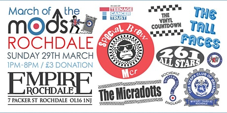MARCH OF THE MODS - ROCHDALE tickets