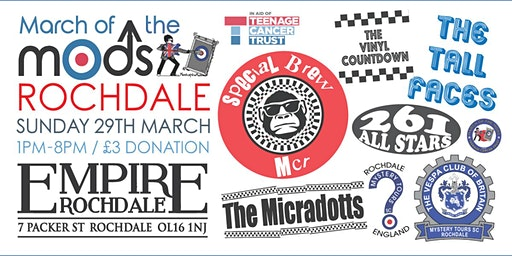 MARCH OF THE MODS - ROCHDALE