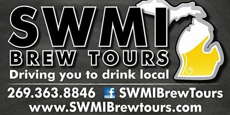 Custom Brewery Tour - June 13th from 2-8. tickets
